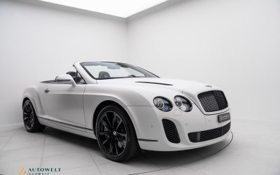 Bentley Continental Supersports Convertible 6.0
